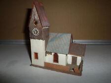 maquette 977 échelle ho faller église faller