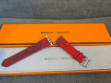 Apple Watch Hermes Band 44MM Rouge De Coeur / Rouge Jumping Single Tour