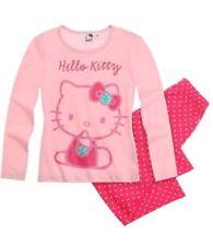 Ensemble pyjama rose pour fille de 7 à 8 ans