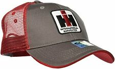 Case IH Trucker Hat Cap in Charcoal and Red