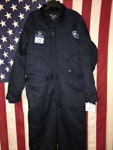 Walls Blizzard Pruf Coveralls overalls Blue Insulated Mens X-Large 46-48 NWT!!!
