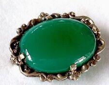Agate Brooch/Pin Vintage Fine Jewellery (1960s)