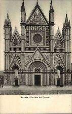 Orvieto Italien Italia Umbrien AK ~1910 Facciata del Duomo Dom Kirche Kathedrale