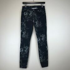 Seven 7 For All Mankind Jeans - Slim Fit Floral - Tag Size: 27 (28x29.5) - #6584