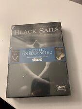 Black Sails: Season 1 and 2 (DVD, 2015, 3-Disc Set)