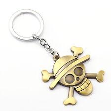 One Piece Skull Keychain Anime High Quality Metal Chain Pendant
