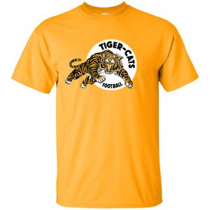 Hamilton Tiger Cats Retro CFL Logo - G200 Gildan Ultra Cotton T-Shirt