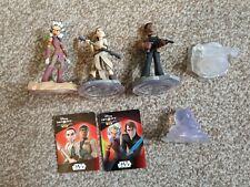 Disney Infinity Figures Bundle Inc Power Discs And Cards star wars rey find more