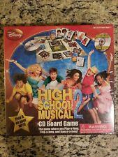 High School Musical 2 CD Board Disney Channel #6814 Cardinal Industries NIB!