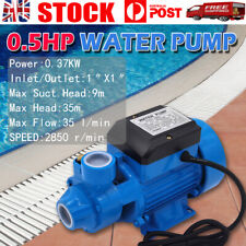 240V 0.5HP Water Pump Electric Garden Rain Water Tank Farm Irrigation Transfer