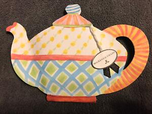 Vintage Mackenzie Childs Teapot Advertising