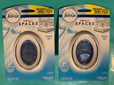 Febreze Small Spaces ~ LINEN & SKY Air Freshener- 2 Pack