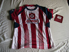 Team Chivas Womens Official Soccer Jersey Reebok Local Size M 2011