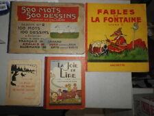 lot de 16 livres ancien d'enfant , jeunesse