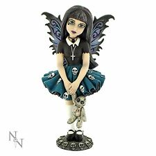 Noire 16.5cm High Little Shadows Nemesis Now Gothic Fairy Girl Figurine Cos Play