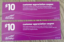 Dansko Shoes Coupons for ($20 Off one pair) - Customer Appreciation Coupons