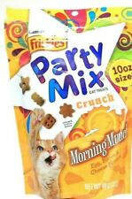 1 Bags Purina Friskies 10 Oz Party Mix Crunch Morning Munch Cat Treats BB 11/19