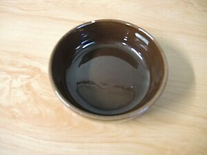 VINTAGE BRUSCHE BROWN SOUP/CEREAL BOWL - CALIFORNIA POTTERY