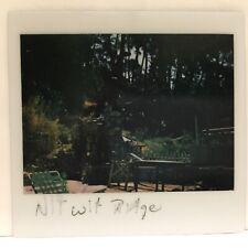 Nit Wit Ridge Outdoor Scene Patio Deck Table Chairs Vintage Photo Snapshot