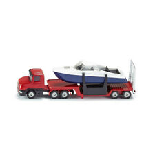 Siku Diecast Model 1658 - Jeep With Boat