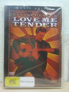 LOVE ME TENDER DVD 1956 Elvis Presley Movie - REG 4 PAL AUST