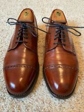 Allen Edmonds Men's Benton Oxford Size 9.5 D Chili, Excellent condition!
