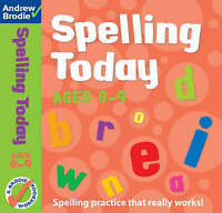 Spelling Today for Ages 8-9 by Brodie, Andrew|Richardson, J. (Paperback book, 20