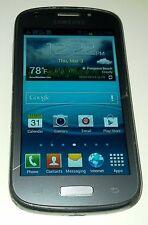 Samsung Galaxy Axiom R830 Silver Gray US Cellular Smartphone Haircrack Crack