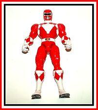 "Power Rangers 15th Anniversary _ 7"" _ Mighty Morphin Red Ranger"