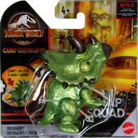 "Jurassic World Snap Squad ~ 2.5"" TRICERATOPS (METALLIC) Action Figure"