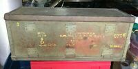 RARE WWII US Army FRAG BOMB KIT CONVERSION Box Case S2AHF M/2 or ANM408 CLUSTER