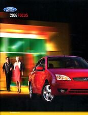 2007 FORD FOCUS BROCHURE covers the S, SE, SES and ST models with specs 20 pages