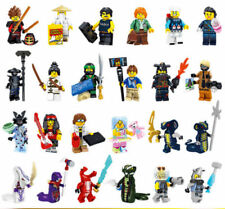 Lot 24PCS NINJAGO MOVIE SERIES COMPLETE SET MINIFIGS new minifigures With LEGO