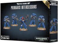 Warhammer 40K Space Marines Primaris Intercessors 5 Combat Squad Astartes