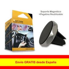 Soporte Magnético Para Móvil GPS Coche Rejilla Aire Ventilación Rotación 360°