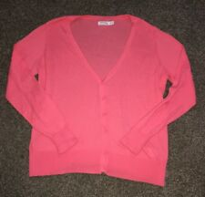 241a078f42f Faded Glory Size XXL 20 Womens Long Sleeve Button Up Coral Colored Top