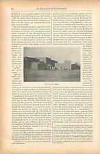 El Abiod Sidi Cheikh wilaya d'El Bayadh Oran Algérie  GRAVURE ANTIQUE PRINT 1900
