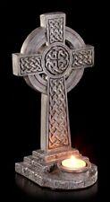 Porta Tealight - Croce celtica con ornamenti - Fantasy Portacandela celtic