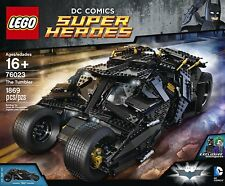 LEGO Batman The Tumbler 76023 DC Comics New Factory Sealed