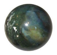 Moss Agate Stone Sphere Ball Table Home Decor Meditation Reiki Healing 45-50MM