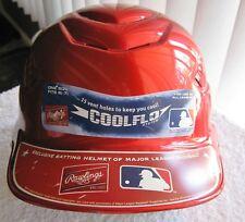 Red Rawlings cool flo batting helmet, sz 61/2 - 71/2,15 vent holes
