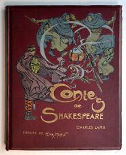 LES CONTES DE SHAKESPEARE, C. Lamb, Henri Morin 1927 livre illustré Enfantina