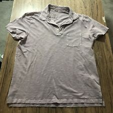 Abercrombie & Fitch Garment Dyed Polo Shirt Size XL #14244