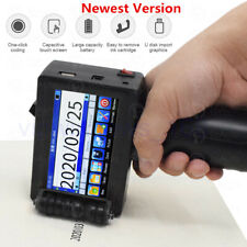 Portable Handheld Inkjet Printer 600DPI For Date Word QR Logo Printing 2-12.7mm