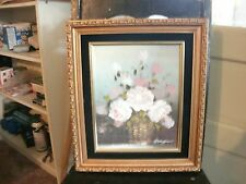 Granger Signed Original Painting Flowers in a Vase   FREE SHIPPING