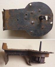 Serrure  en fer forgé du XVIIe siècle 17th/18th century lock