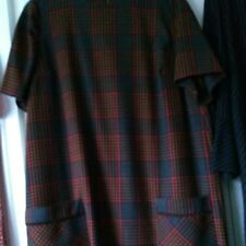 Ladies Next workwear dress, multi colour check, size 20, used