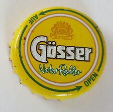 Austria bier kronkorken cap: Gösser Natur Radler Auf Open 2012y