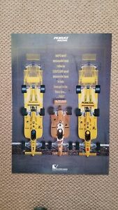 Vintage Team Penske Indianapolis Indy 500 ComputerVision Poster Penzoil March