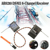 6 Channel Transmitters For DSMX Receiver RX Support AR6210 For DSM2 for Spektrum